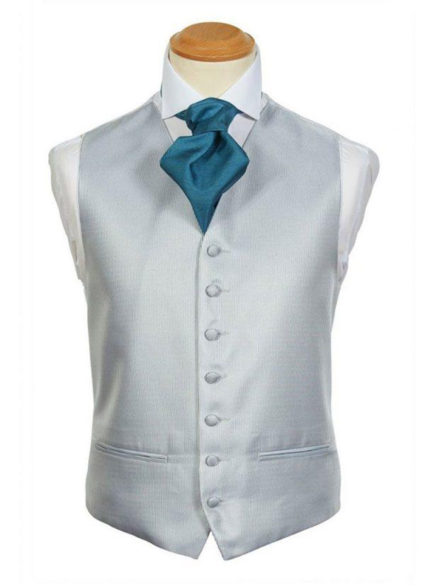 Formal Waistcoat - Buckingham Silver