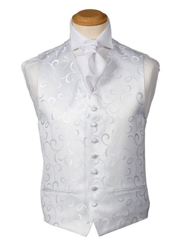 Formal Waistcoat - Kensington White