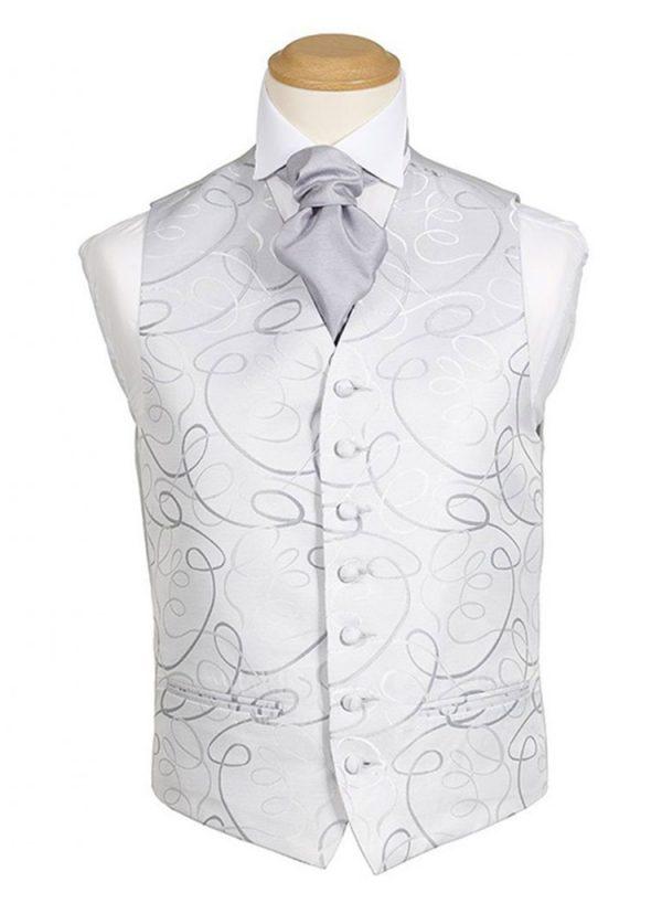 Formal Waistcoat - Mexico Silver