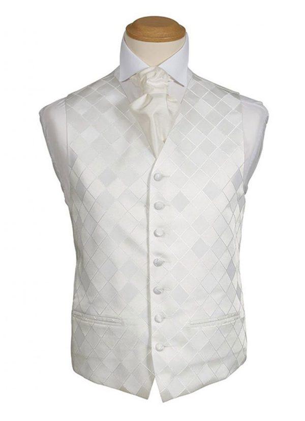 Formal Waistcoat - Regency Ivory