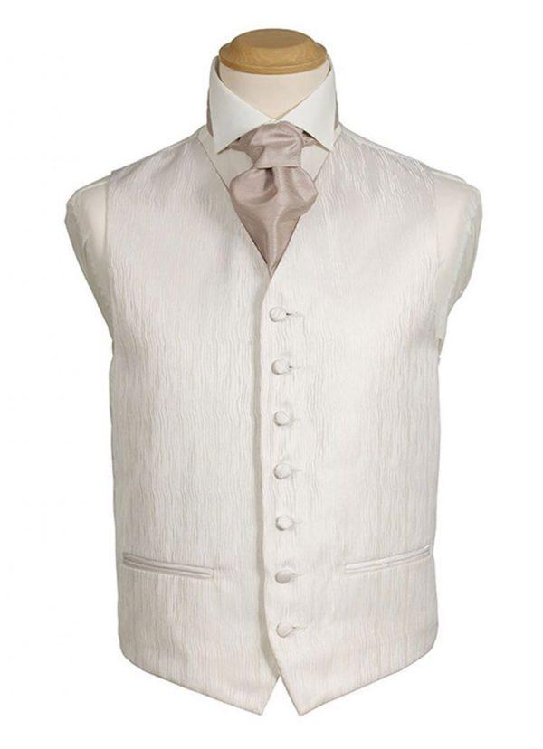 Formal Waistcoat - Tudor Ivory Plain