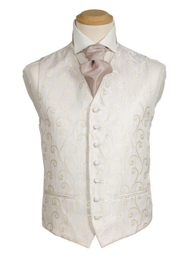 Formal Waistcoat - Tudor Ivory Swirl