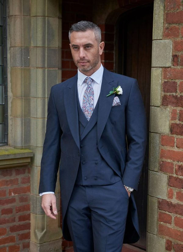 Forton Tailcoat, design classic with a modern edge, timeless, lightweight, tailored fit.